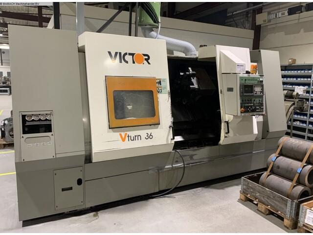 more images Lathe machine Victor V-Turn 36/125 CV