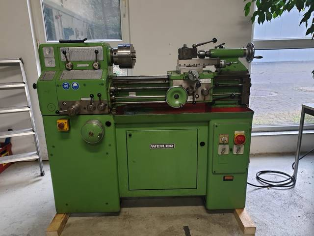 more images Lathe machine Weiler Matador W2