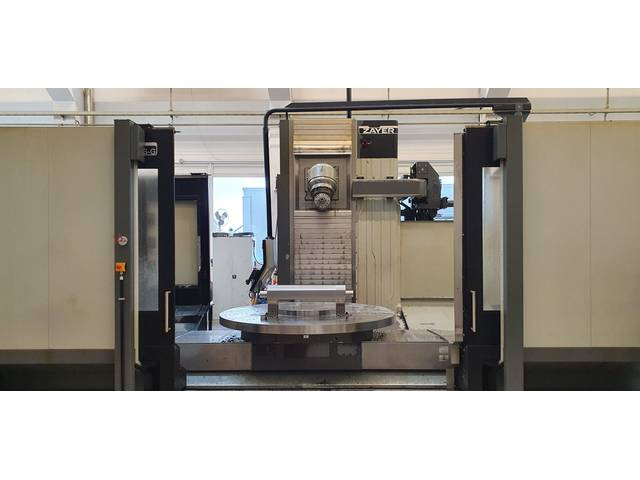 more images Zayer Xios G 1500 Bed milling machine