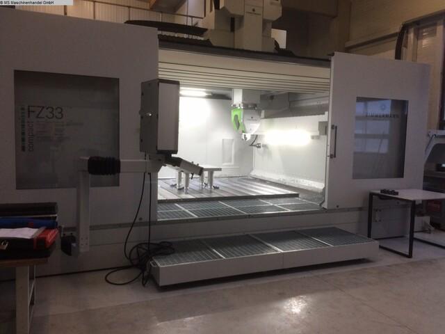more images Zimmermann FZ 33 C Portal milling machines