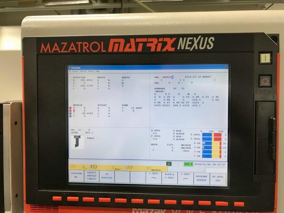 used Mazak QT Nexus 250 II MY Lathe machine [11705]