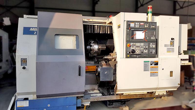 used Mori Seiki ZL 150 SMC Lathe machine Y  2001 [10040]